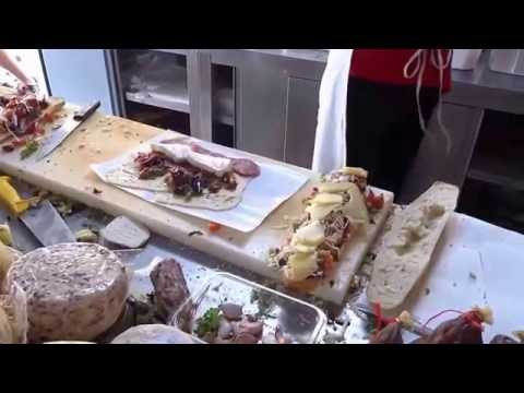 Street Food Italy Sicily incredible Panini Sandwich