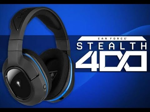 Turtle Beach Ear Force Stealth 400 Wireless Headphones Review