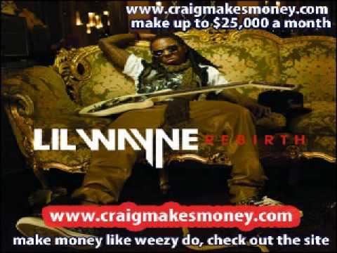 Lil Wayne - One Way Trip feat. Kevin Rudolf (Rebirth) CDQ