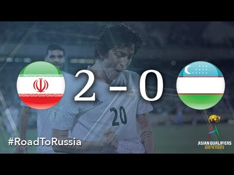 IR Iran vs Uzbekistan (2018 FIFA World Cup Qualifiers)