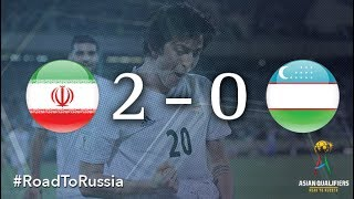 IR Iran vs Uzbekistan (2018 FIFA World Cup Qualifiers) thumbnail