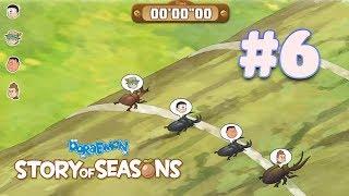 Doraemon Story Of Seasons - Nobita tham gia lễ hội đua bọ cười ngất #Tập  6