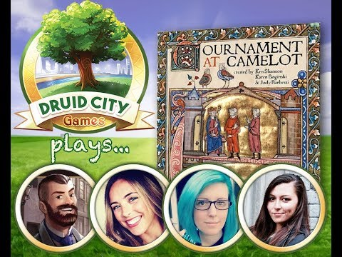 Tournament at Camelot - Board Game Spotlight