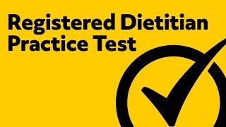 Registered Dietitian Exam Prep