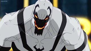 Anti-Venom Burns Carnage [Utimate Spider-Man]