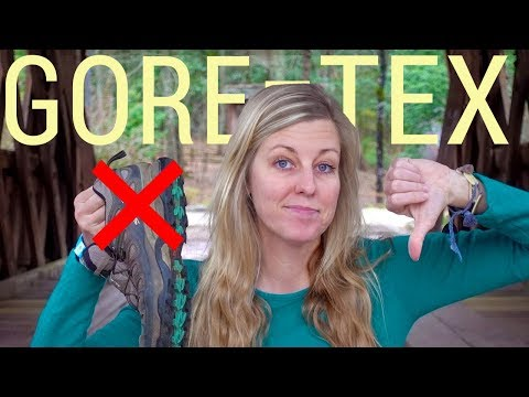 Why I Don't Use Gore-Tex Footwear