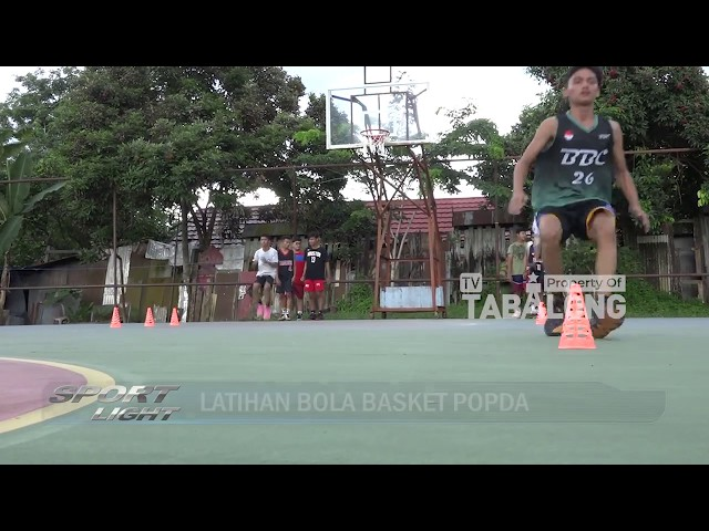 Sport Light - Latihan Bola Basket POPDA 2020