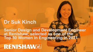 Dr Suk Kinch, named as one of the Top 50 Women in Engineering in 2021.
