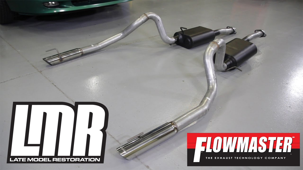review 1999 2004 mustang flowmaster american thunder catback exhaust