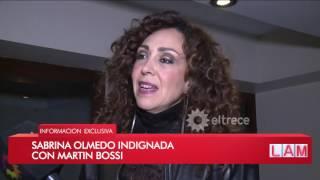 Sabrina, la hija de Alberto Olmedo, indignada con Martín Bossi por su obra de teatro