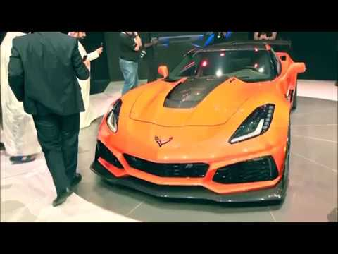 NEW 2019 corvette ZR1 released reveal sound clip and specs Dubai