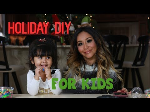 SNOOKI'S DIY ORNAMENTS WITH GIOVANNA