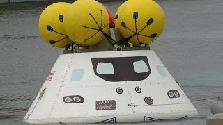Navy, NASA Participate in Orion Recovery Test