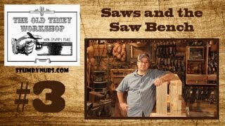 Build A $10 Saw Bench And Learn About Hand Saws: Stumpy Nubs Old-timey Woodworking 3