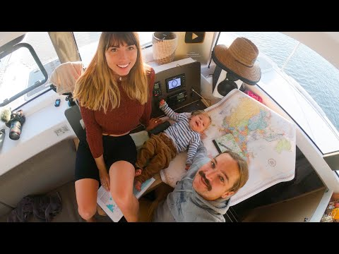 BOAT LIFE: Mapping our Trip down the Coast! Ep.242