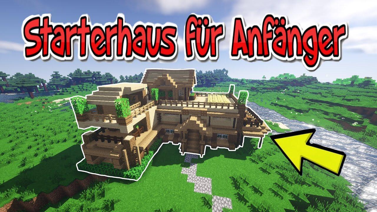 STARTERHAUS in MINECRAFT bauen - Anfangshaus in Minecraft bauen für Anfänger