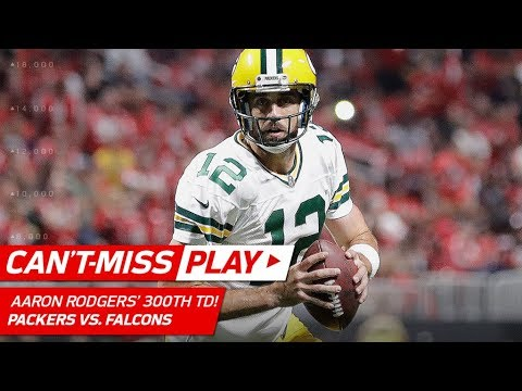 Aaron Rodgers Tosses His 300th Career TD Pass! | Can