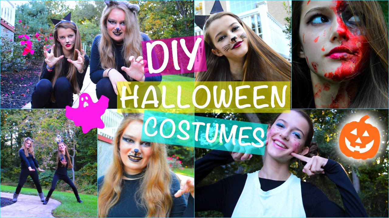 fast affordable diy halloween costumes funny scary cute easy youtube - Easy Cute Halloween Costume