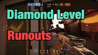 Diamond Level Runouts - Rainbow Six Siege