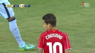 Philippe Coutinho vs Manchester City (Pre-Season 14-15) HD 720p by i7xComps