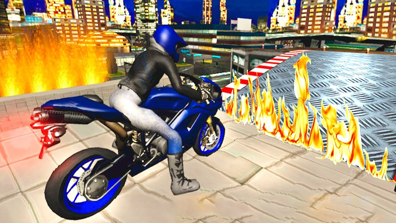 Bike Racing Games - City Highway Bikes Stunt 3D Game - Gameplay Android &  iOS free games