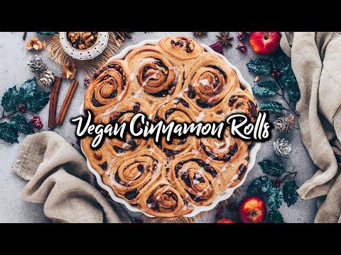 Vegan Cinnamon Rolls * Best Easy Recipe