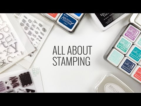 Stamping Techniques & Tips | How To Stamp On Selphy Photo Paper & More
