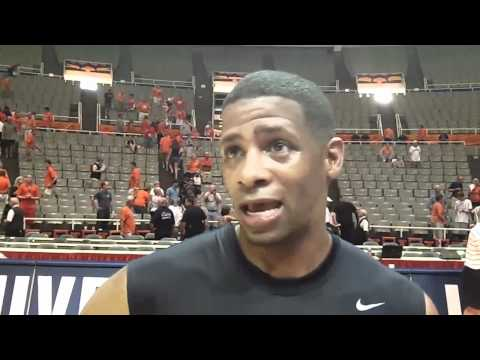 Kendall Gill Alumni Game Interview