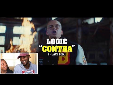 Logic - Contra    🔥 REACTION