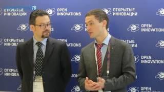 «Актуальный репортаж»: V ежегодный  форум «Открытые инновации» в Сколково