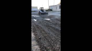 Owens Gravel Repair SR3 Parking Lot Re-Grade