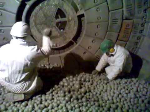 ЖЕСТЬ! шаровая мельница изнутри