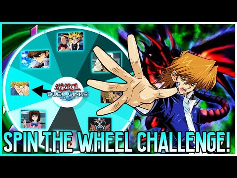 HOW I'M I WINNING? | SPIN THE WHEEL CHALLENGE! | Yu-Gi-Oh! Duel Links Ranked PvP