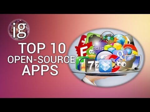 TOP 10 OPEN-SOURCE APPS | IGO