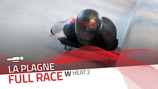 La Plagne | BMW IBSF World Cup 2019/2020 - Women's Skeleton Heat 2 | IBSF Official