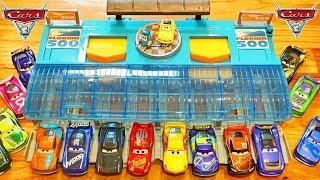 Disney Cars 3 Florida 500 Racetrack Launches Next Gen Piston Cup Racers so Fast!
