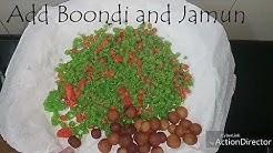 Gulab Jamun and Boondi  Mix Recipe #MadhuraMilana