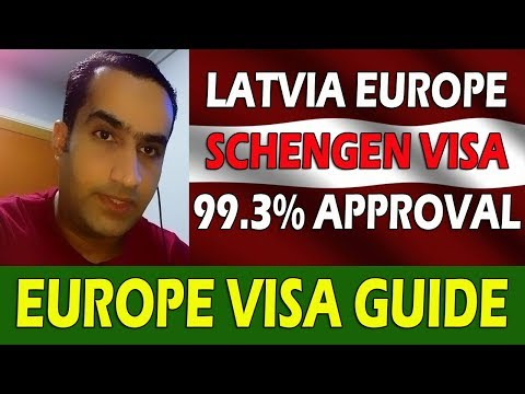 Latvia Europe Schengen Visa For Indian & Pakistani Best Approval Rate