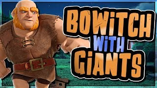 BOWITCH | GIANTS REPLACING GOLEM | TH11- TH10 STRATEGY | Clash of Clans