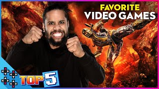 JIMMY USO's TOP 5 FAVORITE VIDEO GAMES of ALL-TIME!!!