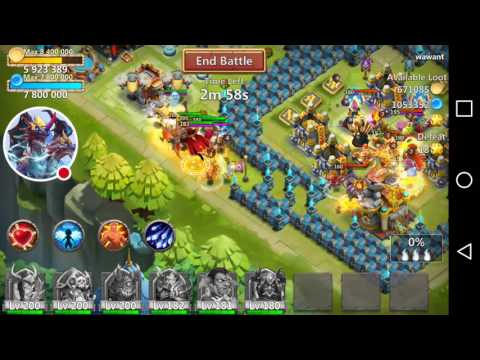 Castle Clash: Quest Board Gameplay