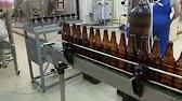 Линия розлива минеральной воды и лимонада 3200 бут/час. - YouTube