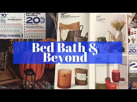 BED BATH & BEYOND SALE / 20% AND $10 OFF COUPONS / MASSIVE SAVINGS 🔥🏃🏻‍♀️