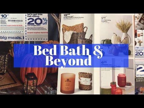 BED BATH & BEYOND SALE / 20% AND $10 OFF COUPONS / MASSIVE SAVINGS 🔥🏃🏻♀️