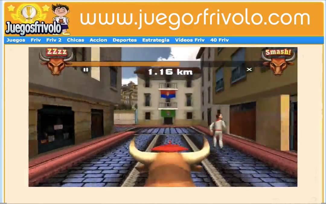 Pamplona Smash Friv Juegos Youtube