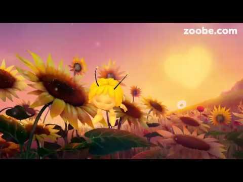 видео пчёлка майя zoobe желает доброго утра