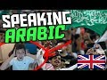 ENGLISH BOY SPEACKING ARABIC FOR FIRST TIME!