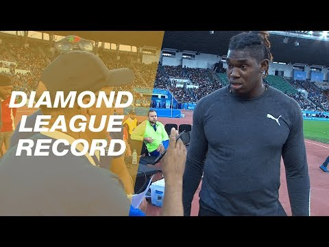 Fedrick Dacres disqualified throw overturned, sets a new Diamond League Record in Rabat - IAAF 2019