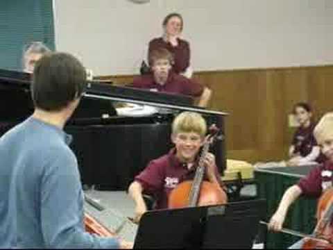 Connor's Cello Camp Recital