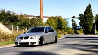 """BMW e90 325i 19"""" Royal GT wheels H 45/30 M3 Front Bumper, Performance ESD Exhaust, Tuning low loud"""